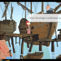Nelly Cootalot: The Fowl Fleet game screenshot, boat