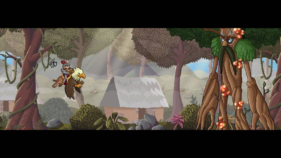Gryphon Knight Epic game screenshot, pre-boss