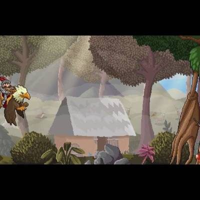 Gryphon Knight Epic game screenshot, pre-boss