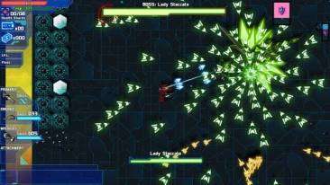 Starward Rogue game screenshot, bullet pattern (courtesy Steam)