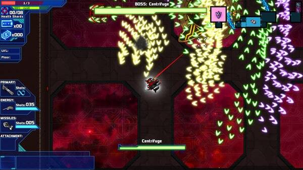 Starward Rogue game screenshot, bullet spectrum (courtesy Steam)
