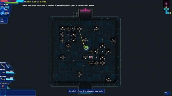 Starward Rogue game screenshot, enemies (courtesy Steam)