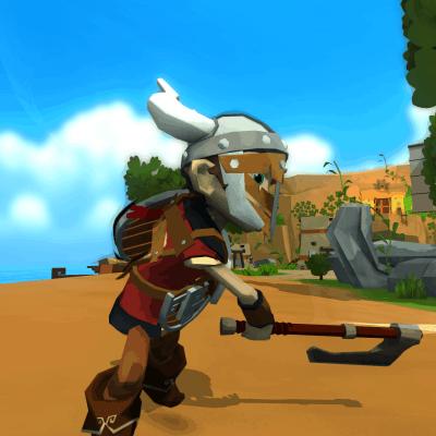 Cornerstone game screenshot, axe