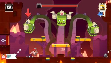 Abraca game screenshot, boss