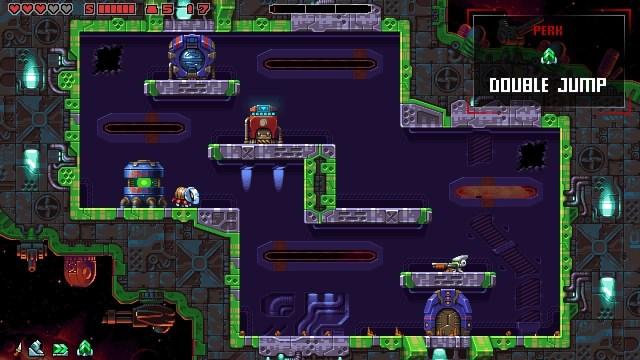 Super Mutant Alien Assault game screenshot, perk
