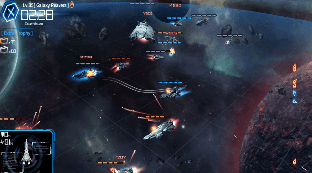 Galaxy Reavers game screenshot, combat