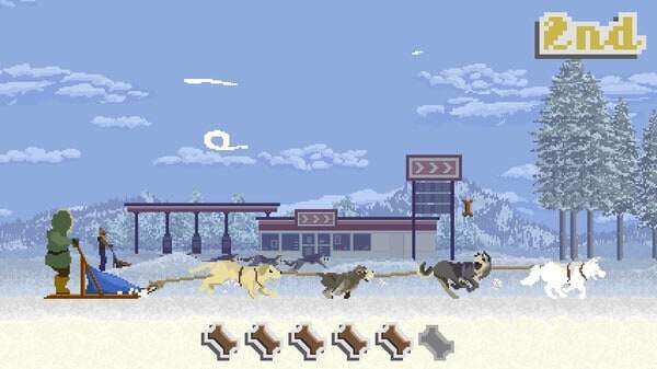 Dog Sled Saga game screenshot courtesy Steam