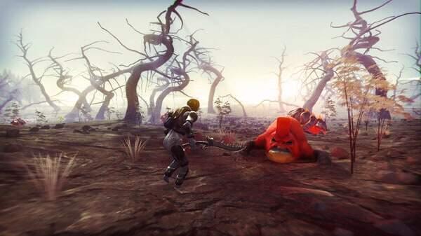 GRAV game screenshot courtesy Steam