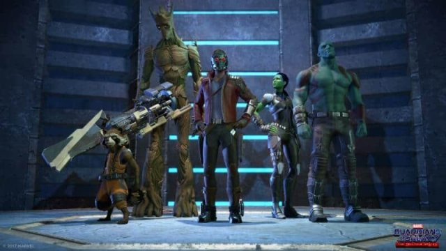Guardians of the Galaxy: The Telltale Series game screenshot courtesy Telltale Games