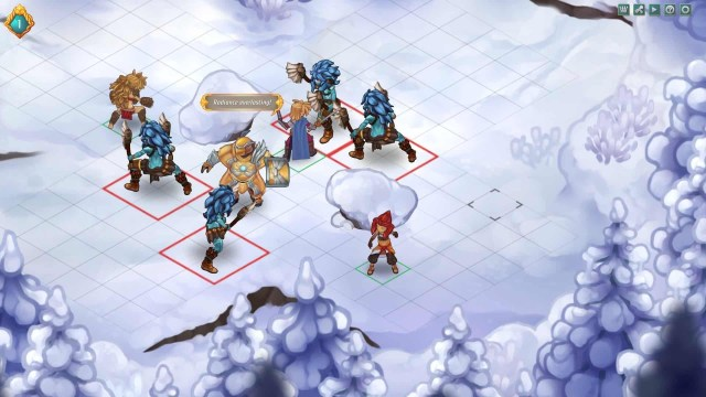 Regalia: Of Men and Monarchs screenshot, winter fight