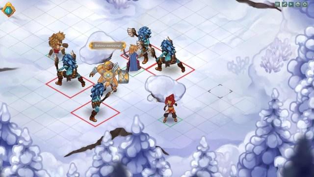 Regalia: Of Men and Monarchs screenshot, winter fight