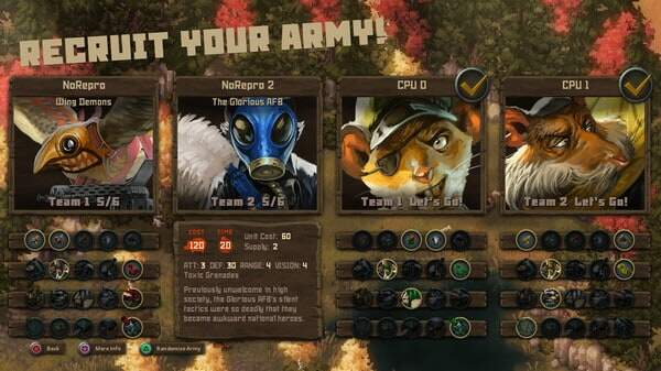 Tooth and Tail courtesy steam