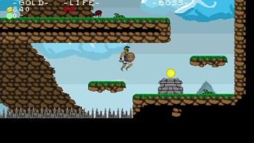 Xenia game screenshot, jumping