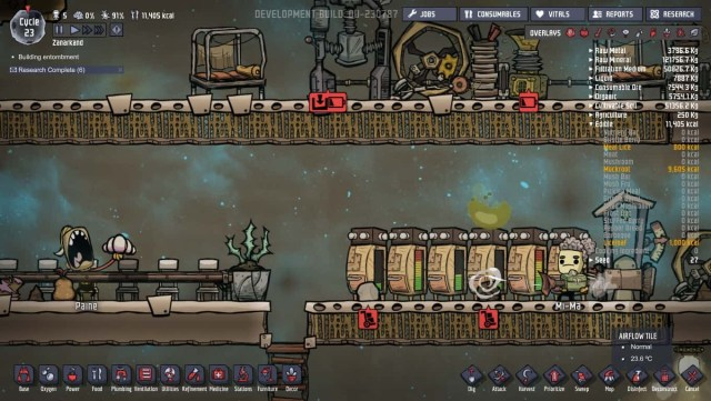 oxygen not included food