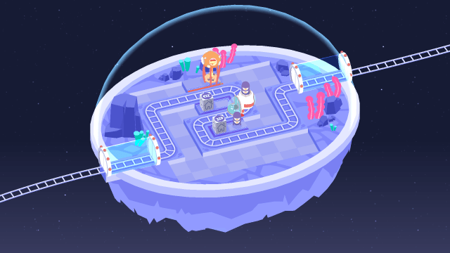 Cosmic Express game screenshot courtesy official site
