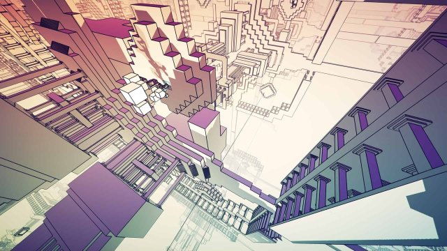 Manifold Garden game screenshot courtesy Steam