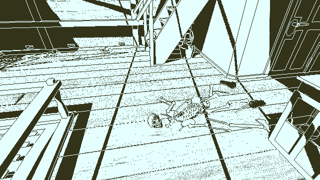Return of the Obra Dinn game screenshot courtesy Itch.io
