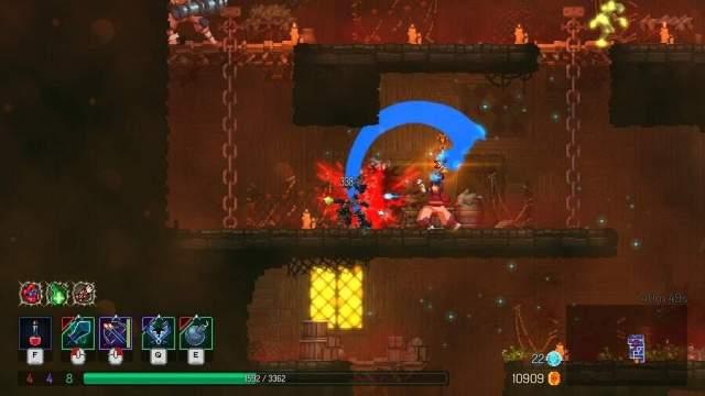 Dead Cells - Shotgun Crossbow in Roguelike Metroidvania