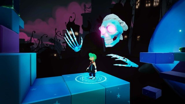Carly and the Reaperman: Escape from the Underworld game screenshot courtesy Steam
