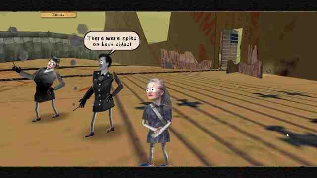 Cosmic Top Secret game screenshot, conversation