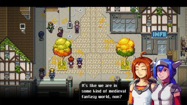 CrossCode game screenshot