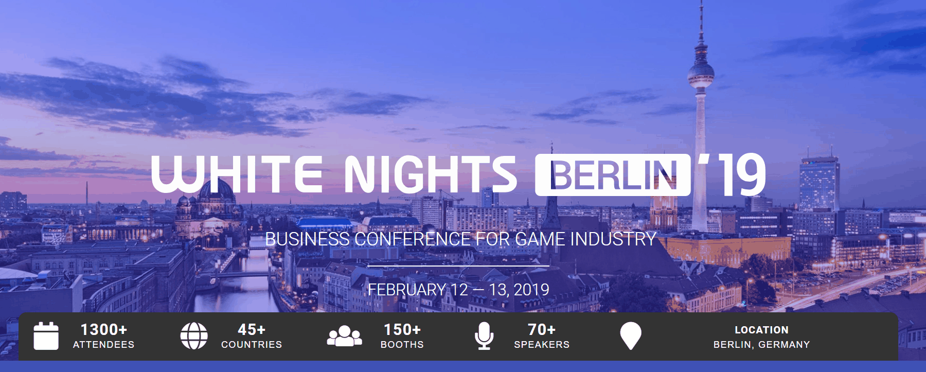 White Nights Conference in Berlin - Gaming Industry