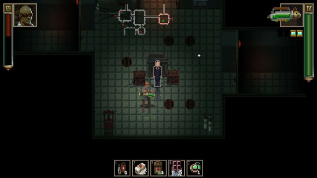 Lovecraft's Untold Stories game screenshot, shop