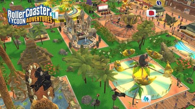 Rollercoaster Tycoon adventures jungle