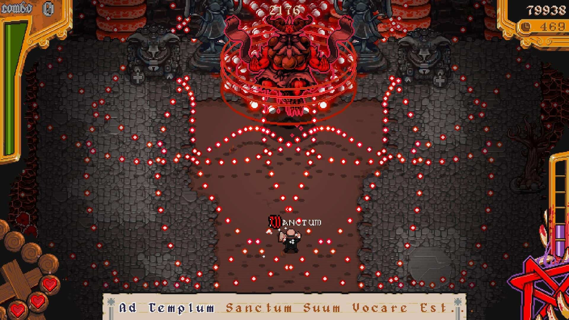 Textorcist Feature of bullet hell