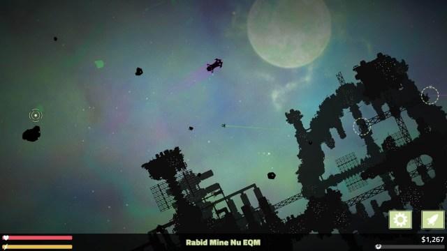 Masteroid game screenshot