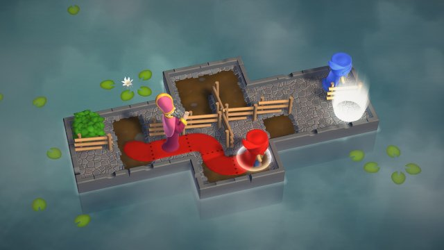 Puddle Knights game screenshot