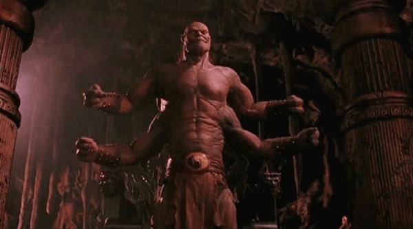 Goro in the Mortal Kombat movie