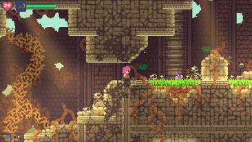 Phoenotopia Awakening game screenshot, Ruins