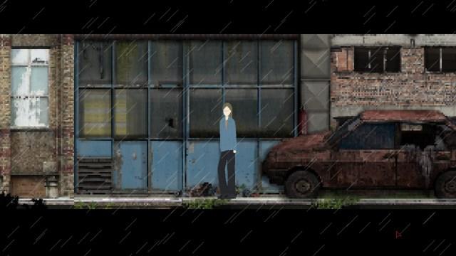 DOM RUSALOK game screenshot, urban blight