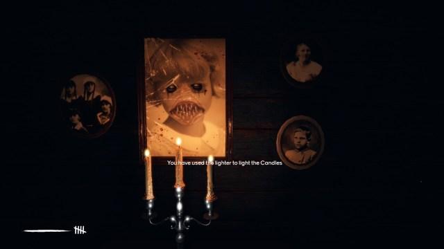 Martha game screenshot, candlelit picture