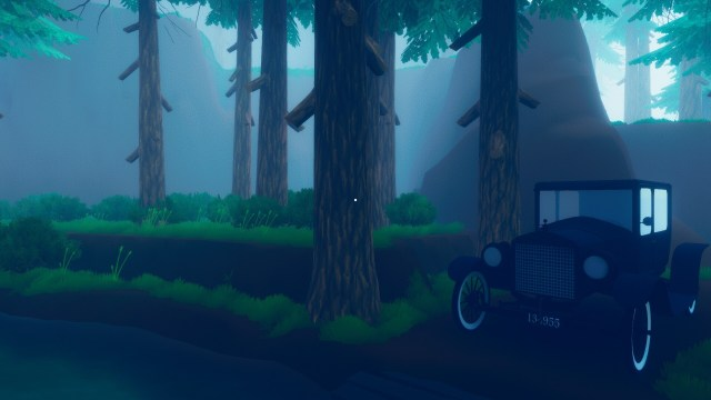 A Murmur in the Trees game screenshot