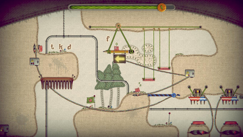 Where's Samantha game screenshot, Moving Platform