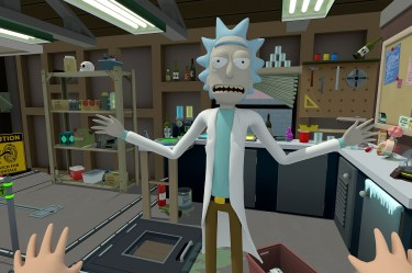 Rick and Morty: Virtual Rick-ality header