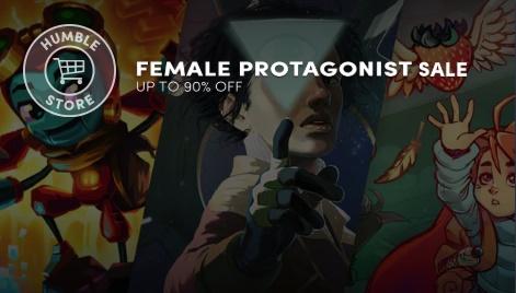 Humble Bundle Female Protagonist Sale