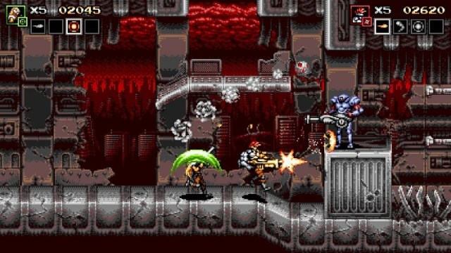 Top 10 Games of Pax East 2019: 'Blazing Chrome' - Indie Games Plus