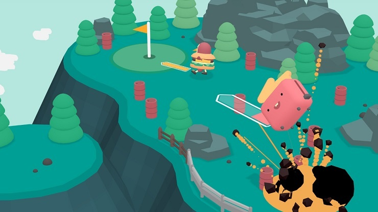 'WHAT THE GOLF?' Switch Release Brings Multiplayer Golf Shenanigans