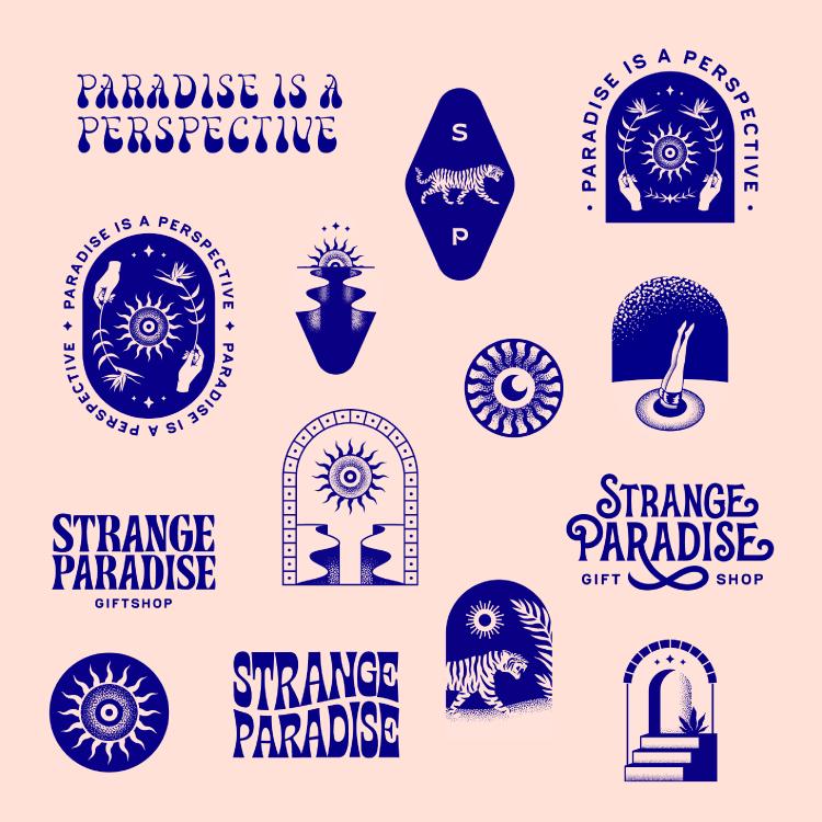 Strange Paradise Brand Marks