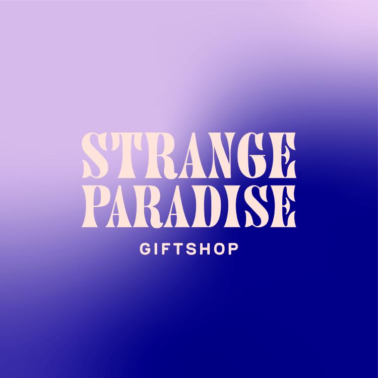 Strange Paradise Giftshop Logo