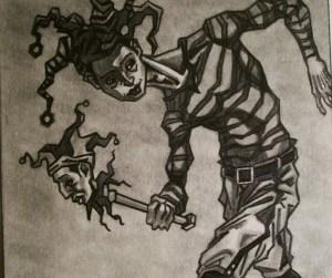 Joker - By Joseph Grady copyright @2013 Joseph Grady