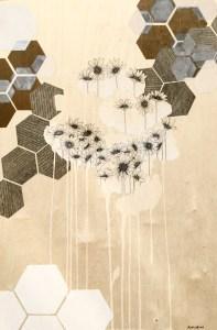 """""""Εξάγωνο (Hexagon)"""" by Artist Rachel Chansler"""