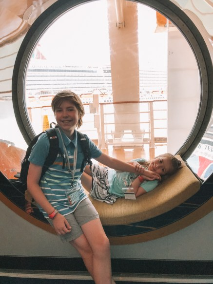 Indie Kin Disney Cruise Embarkation Day