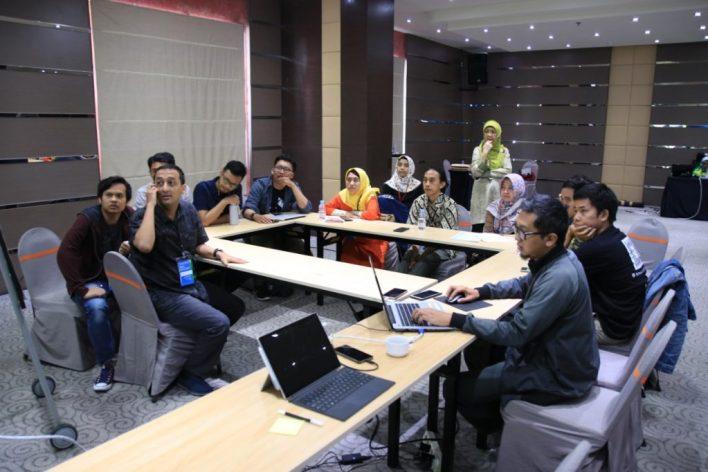 Kegiatan FGD Komunitas dan akademisi Gim Kota Malang - Via Bekraf