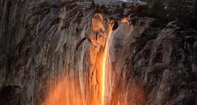 Wisata air terjun api yang bikin fenomenal (Foto via Instagram @NationalParksPartnership)