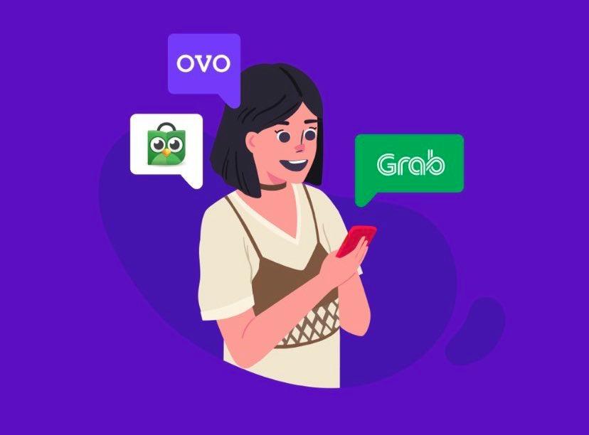 Tokopedia dikabarkan segera merger dengan Gojek, apakah OVO dan GoPay akan bersaing? (Foto via Twitter @ovo_id)