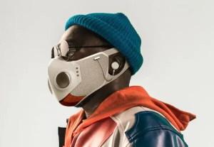 Musisi Will.I.am rilis masker fesyen modern (Foto via www.nytimes.com)